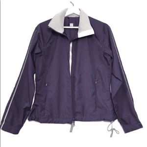 Moving Comfort Purple ZIP Up Athletic Jacket S/P